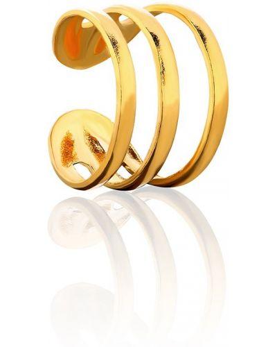 Серебряные серьги золотые из золота La Tienne