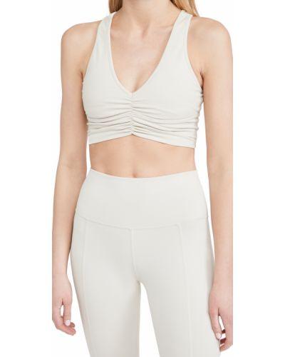 Biustonosz sportowy z nylonu Alo Yoga