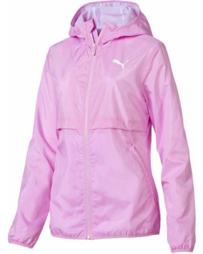 Куртка с капюшоном розовая на молнии Puma