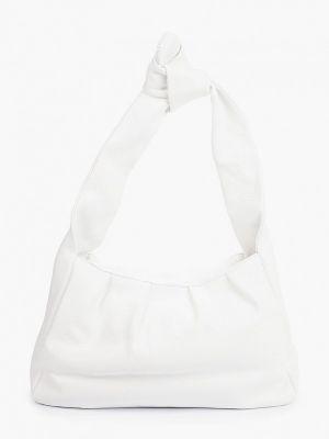 Белая кожаная сумка Lamania
