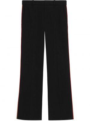 Czarne majtki z wiskozy vintage Gucci