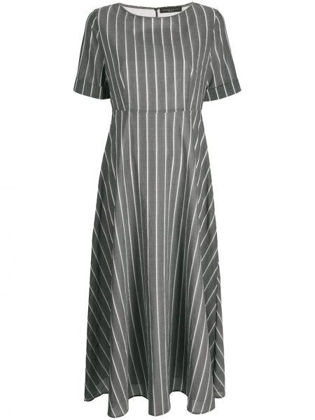 Платье мини серое миди Fabiana Filippi