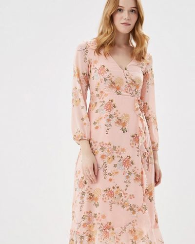 Платье с длинными рукавами весеннее Springfield