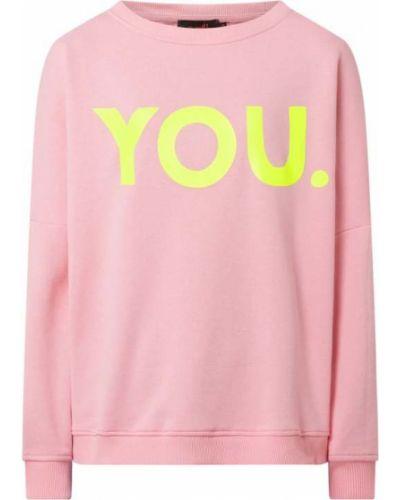 Bluza z nadrukiem z printem - różowa Miss Goodlife