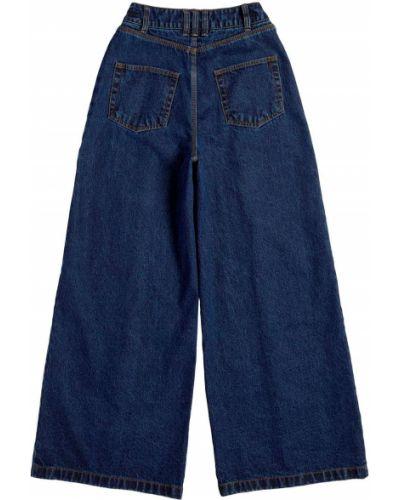 Синие брюки с логотипом Adidas X Ivy Park
