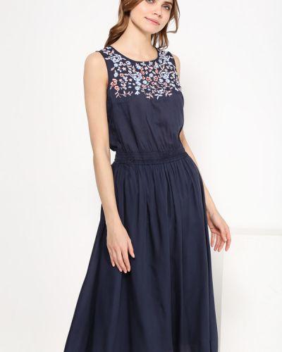 Вечернее платье миди с цветочным принтом Finn Flare