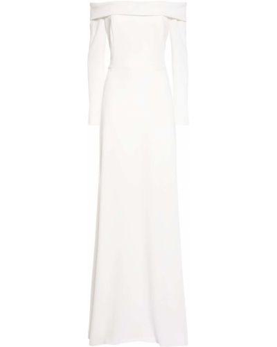 Biała sukienka długa Max Mara