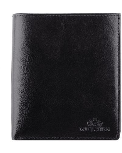 Черный кошелек на молнии Wittchen