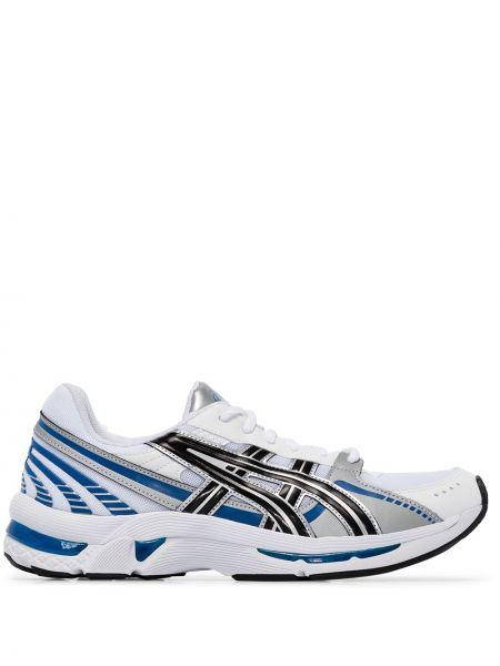 Кожаные спортивные кроссовки беговые на каблуке для бега Asics