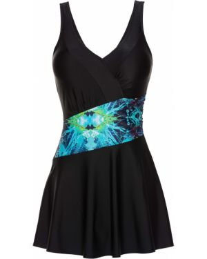 Платье с запахом купальное Bonprix