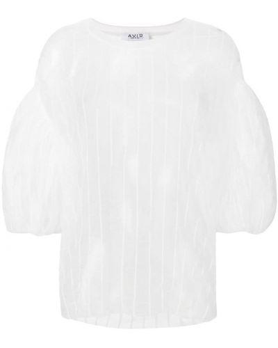 Блузка шелковая прозрачная Aviù