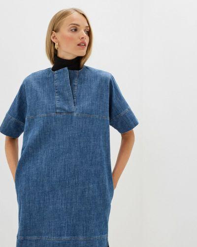 Джинсовое платье весеннее синее French Connection