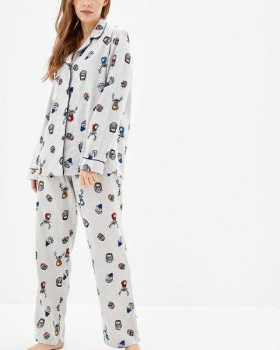 Серая пижамная пижама Pjmood