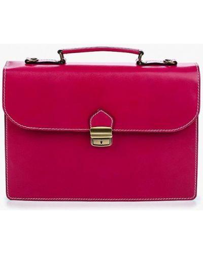 Розовый портфель итальянский Roberta Rossi