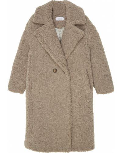 Пальто серое плюшевое D.o.t.127