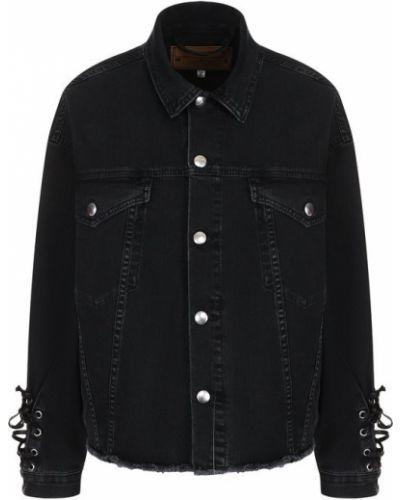 Джинсовая куртка свободная хлопковая Mcq