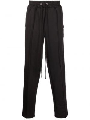 Czarne spodnie Domrebel