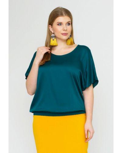 Блузка зеленый весенний Lina