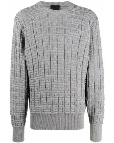 Sweter oversize - szary Givenchy