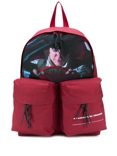 Czerwony plecak skórzany Undercover