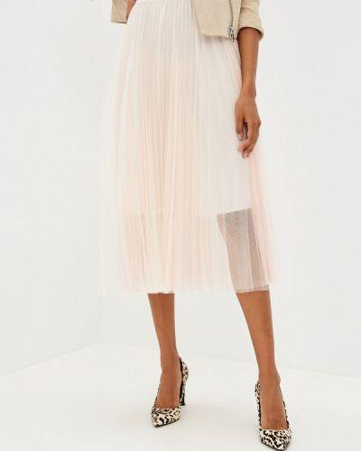 Плиссированная юбка бежевый Glam Goddess