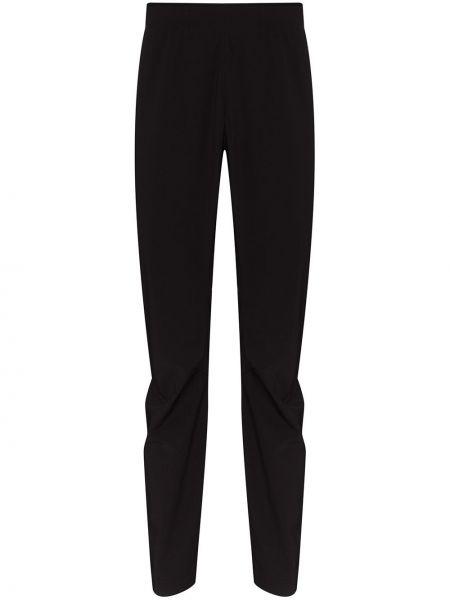 Czarne spodnie z nylonu Arcteryx