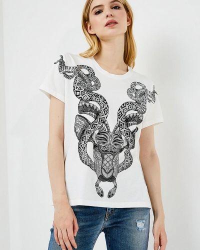 Белая футболка Just Cavalli