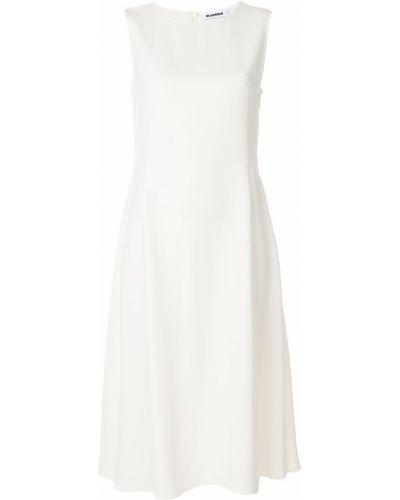 Платье миди платье-солнце без рукавов Jil Sander