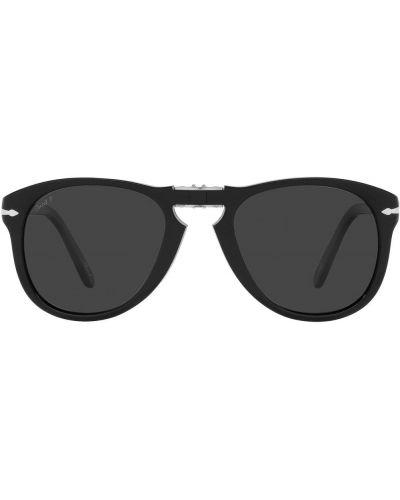 Okulary srebrne - czarne Persol