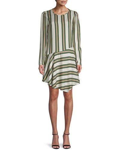 Платье макси в полоску с длинными рукавами на крючках Bcbgeneration