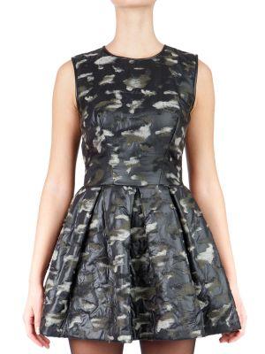 Платье из вискозы - серое Plein Sud