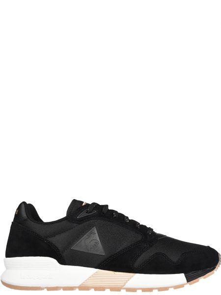 Текстильные кроссовки - черные Le Coq Sportif