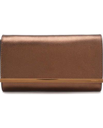 Кожаный сумка вечерняя Coccinelle