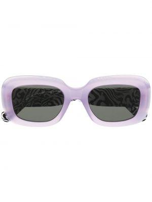 Прямые фиолетовые солнцезащитные очки квадратные Retrosuperfuture