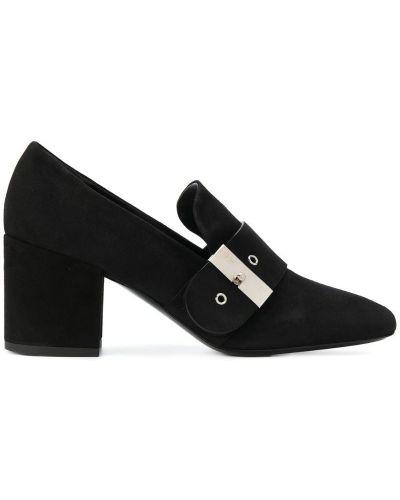 Туфли-лодочки с ремешком кожаные Premiata