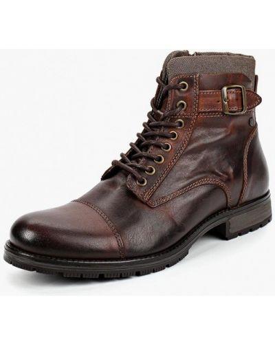 Ботинки осенние кожаные португальские Jack & Jones