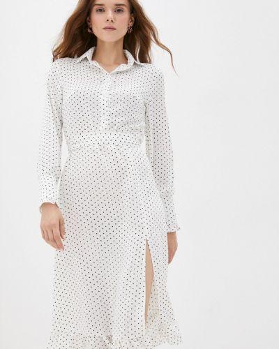 Белое демисезонное платье Hey Look