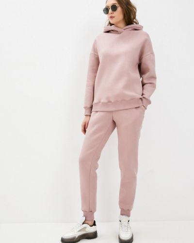 Костюмный розовый спортивный костюм La Biali