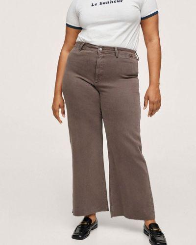 Серые джинсы осенние Violeta By Mango