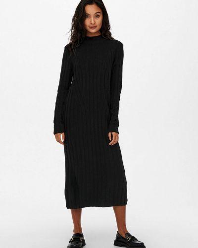 Вязаное платье - черное Only