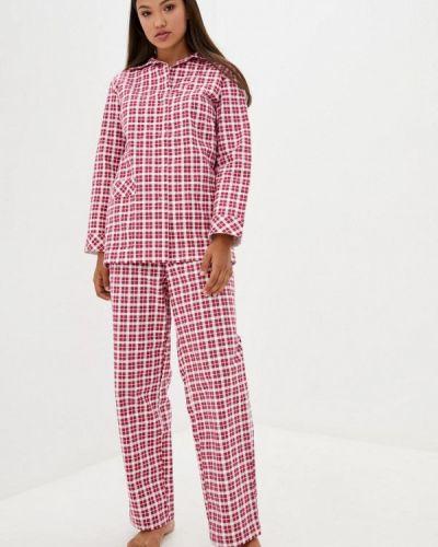 Пижамная красная пижама Прованс