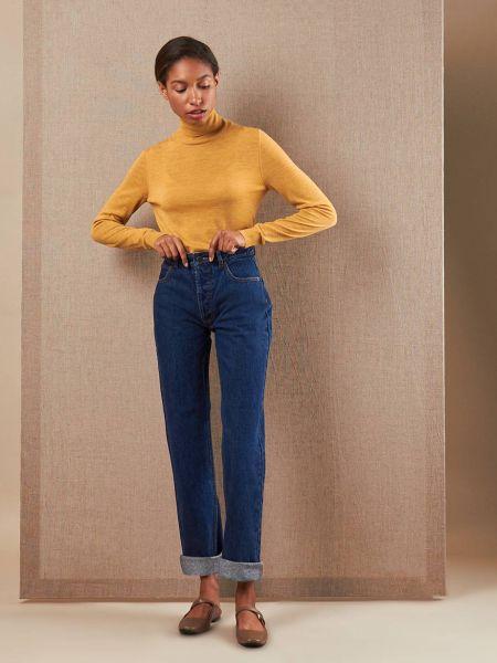 Прямые джинсы на пуговицах 12storeez