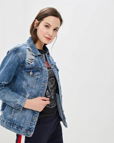 Джинсовая куртка весенняя синий Haily's