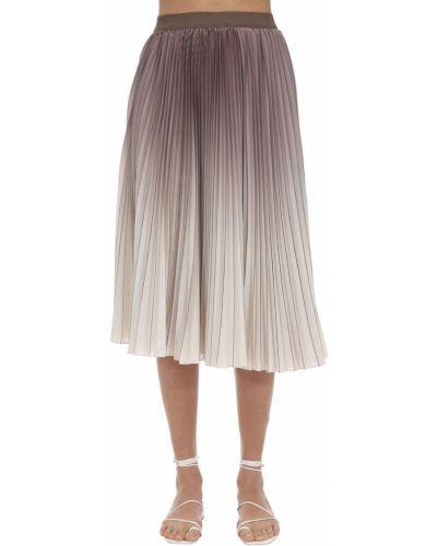 Плиссированная юбка - фиолетовая Agnona