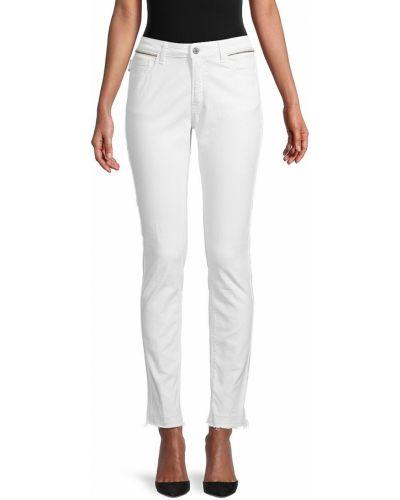 Хлопковые джинсы с карманами с манжетами Zadig & Voltaire