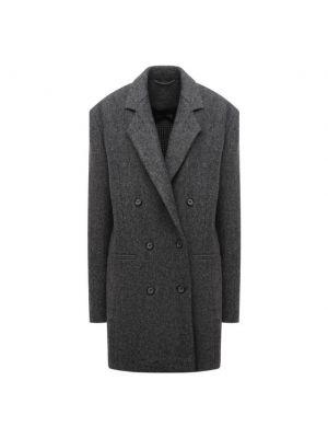 Шерстяной пиджак - серый Magda Butrym