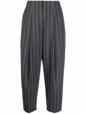 Укороченные брюки - серые Theory