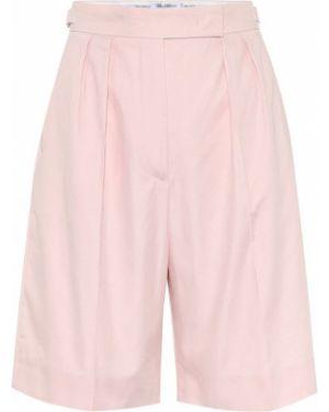 Короткие шорты розовый с разрезами по бокам Max Mara