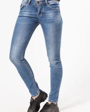Хлопковые синие джинсы Lucky Jojo