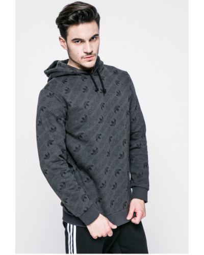 Серая кофта Adidas Originals